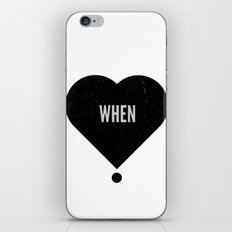 When iPhone & iPod Skin