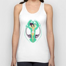 oh summer Unisex Tank Top
