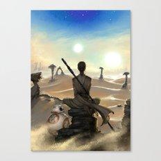 StarWars - Rey Canvas Print