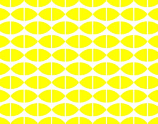 Lemons Pattern Canvas Print