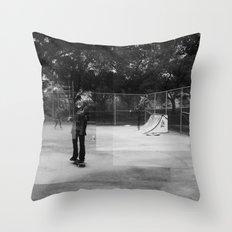 Skater Series #1 Throw Pillow