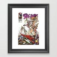 Spawn 9 Cover Framed Art Print