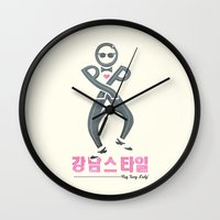 Oppa Wall Clock