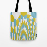 Honey Arches Yellow Tote Bag