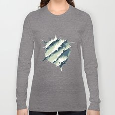 Explosions in the water Long Sleeve T-shirt