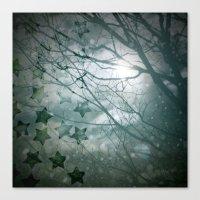 Falling Into Night Canvas Print