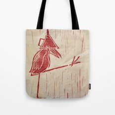 Walk Like A Bird Tote Bag