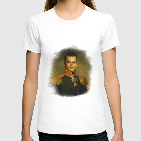 Matt Damon - replaceface T-shirt