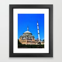 Mosque Framed Art Print