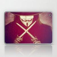 V For Vendetta4 Laptop & iPad Skin