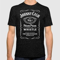 Cash Mens Fitted Tee Tri-Black SMALL