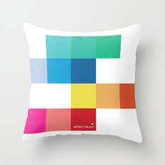 Spectrum Throw Pillow