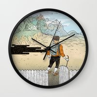 Backyard Adventure Wall Clock