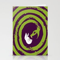 Decaying Snake Stationery Cards