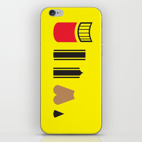 What a pencil looks like iPhone & iPod Skin