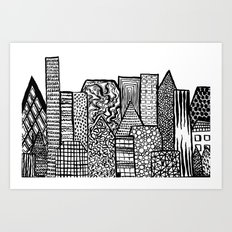 Where Are You Today? Art Print