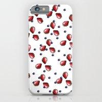 Berry Fields iPhone 6 Slim Case