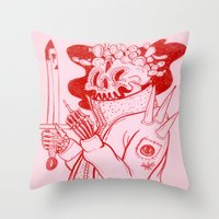 Prickly Feelings Throw Pillow