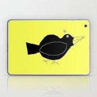 meg's crow Laptop & iPad Skin