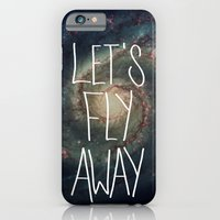 iPhone & iPod Case featuring Let's Fly Away (come on, darling) by Galaxy Eyes