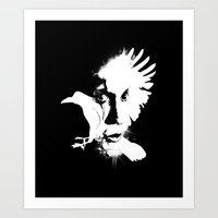 The Crow Art Print