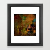 The Last Letter Framed Art Print