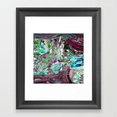 Very Berry Mint Ice Cream Framed Art Print