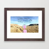 Lonely Cowboys Framed Art Print