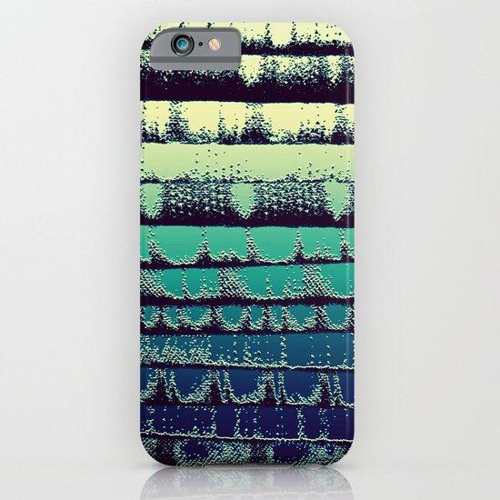 Tissue - Green Yellow iPhone & iPod Case
