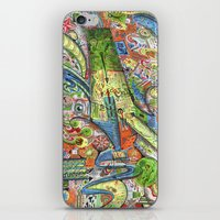 Madness Doodle iPhone & iPod Skin
