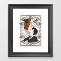 Harry Potter Tarot Framed Art Print