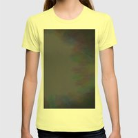 Graffiti Womens Fitted Tee Lemon SMALL