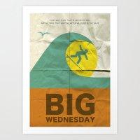 Big Wednesday Art Print