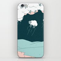 Where Do Good Sheep Go..… iPhone & iPod Skin