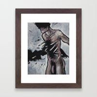 untitled (dead things 02) Framed Art Print