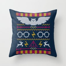 The Sweater That Lived Throw Pillow