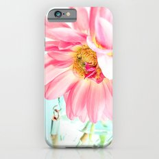 Pink Flower Slim Case iPhone 6s