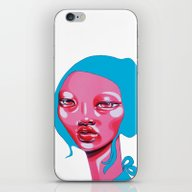 iPhone & iPod Skin featuring SÖRA by Zelda Bomba