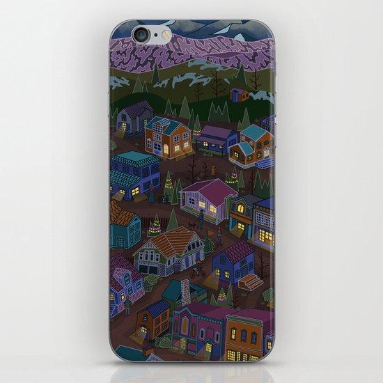 Adventure Town iPhone & iPod Skin