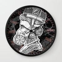 Umbrella Queen Wall Clock