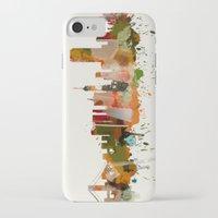 san francisco iPhone & iPod Cases featuring San Francisco by mark ashkenazi