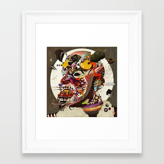 Mr. Nice Framed Art Print