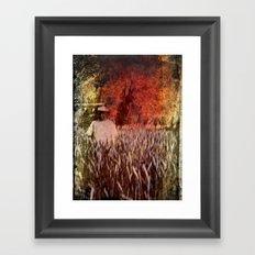 In the Field - Heritage Series Framed Art Print