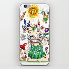 She-Beast and Friends iPhone & iPod Skin