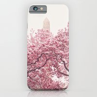 Central Park - Cherry Blossoms iPhone 6 Slim Case