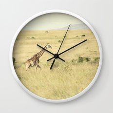 journey::kenya Wall Clock