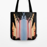 REVERSED SUMMER SHADOWS Tote Bag