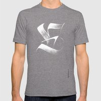 Fraktur-e Mens Fitted Tee Tri-Grey SMALL