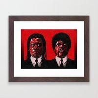 JV Framed Art Print
