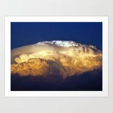 Dark Clouds 3 Art Print
